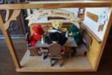 """Original Hermann - Teddy  Puppenstube """"Zum Bärenwirt"""" Puppenhaus limitiert"""