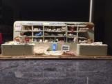 Puppenstube, Puppen, Stoffladen, Kaufladen, Puppenhaus, Gottschalk, Puppe, Antik